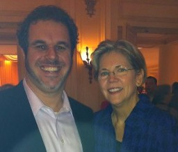 Dr. Hall with US Senate candidate Elizabeth Warren