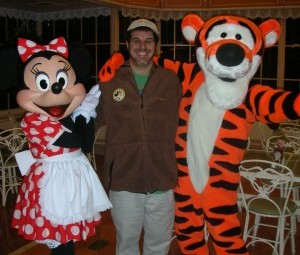 Minnie Mouse, Dr. David M. Hall and Tigger